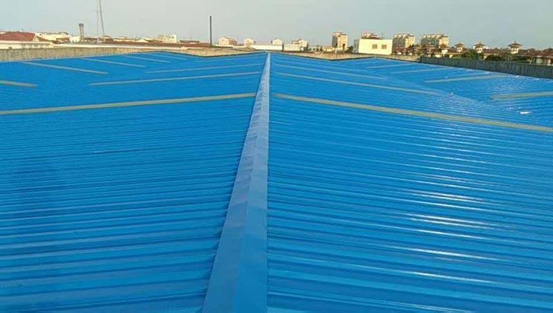 35000平米屋面彩鋼瓦隔熱涂裝需要多少錢